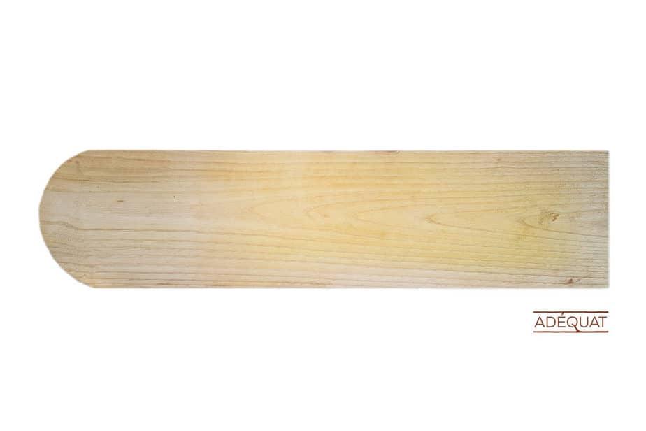 Holzschindeln abgerundet - Dachschindeln Holz Rund