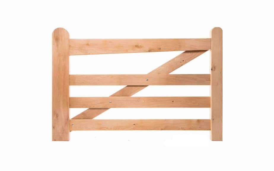 Niederländische Weidetor Holz – Eiche. Holland Stil