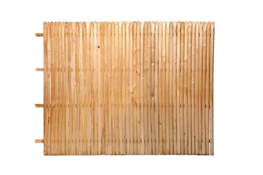 Sichtschutz kastanienholz