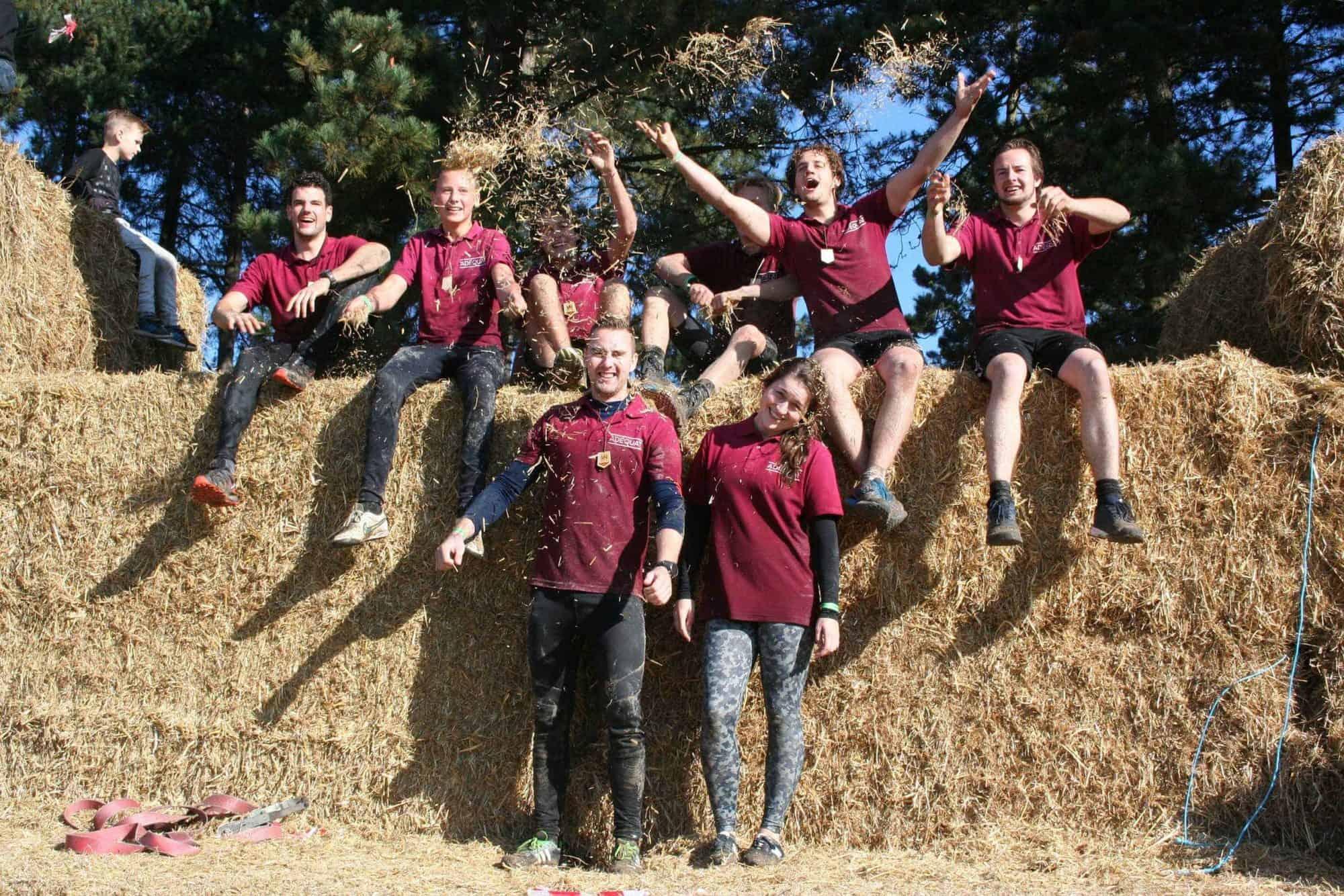 Adéquat, een ijzersterk team op de Musclerun 2016!
